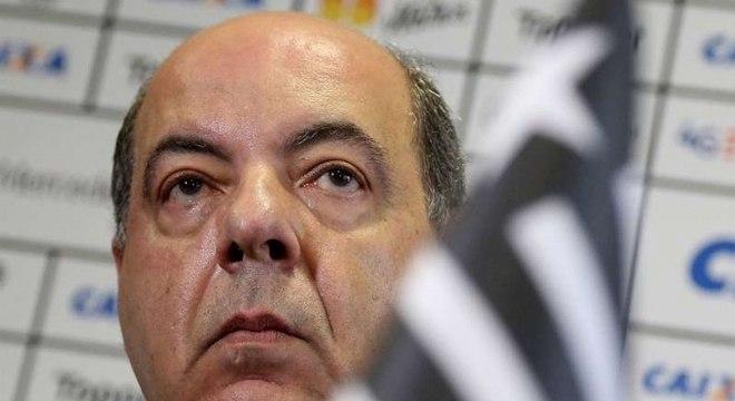 Nelson Mufarrej é o presidente do Botafogo