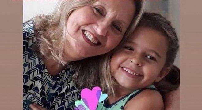 Avó e neta foram duas das vítimas da enchente no Rio