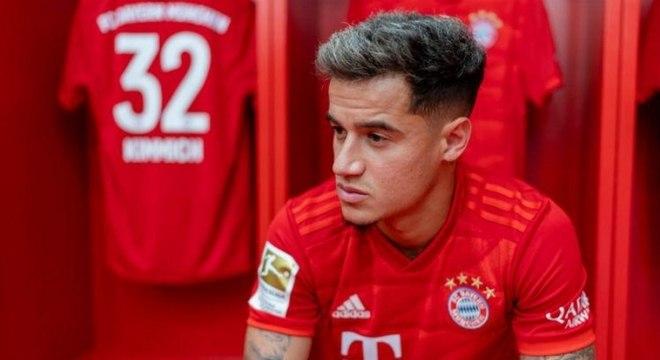 Philippe Coutinho ao Bayern de Munique por empréstimo, em agosto de 2019