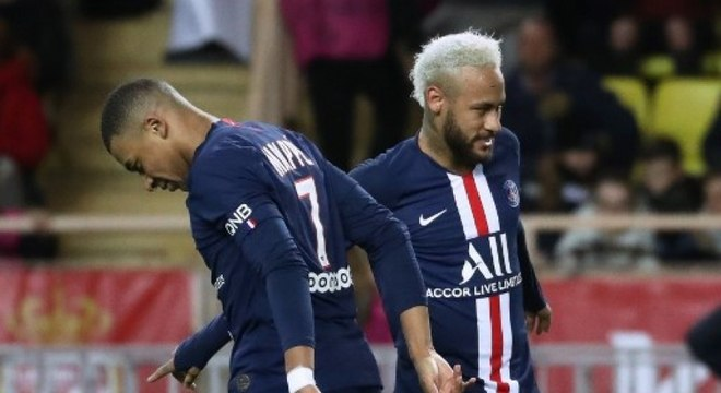 Mbappé e Neymar podem ter salários 50% menor por causa do coronavírus
