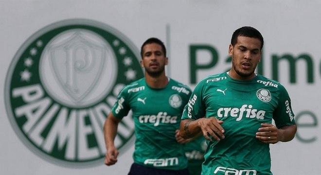 Dupla Luan e Gustavo Gómez deve retornar contra o Internacional