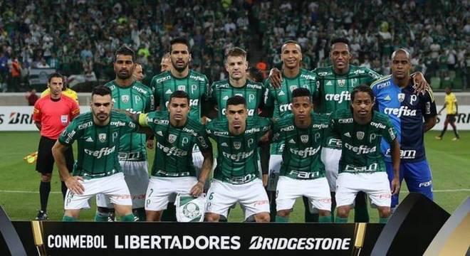 af7adf6e22 Há exatamente um ano o Palmeiras caiu nas oitavas de final da Libertadores