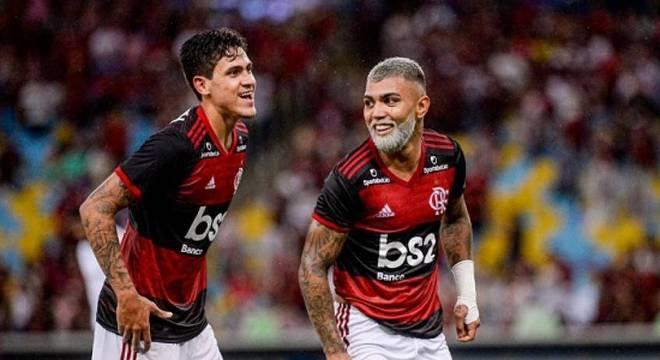 Pedro e Gabriel Barbosa vivem ótimos momentos pelo Rubro-Negro da Gávea