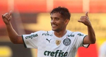 Scarpa deu sete passes para gols do Palmeiras