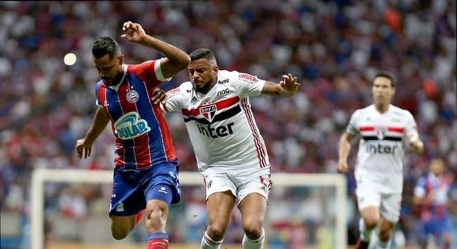 São Paulo ainda não venceu, nem fez gols, nos três jogos contra o Bahia