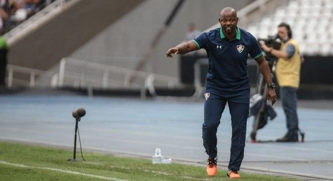 Marcão representa a boa fase do Fluminense, com duas vitórias seguidas