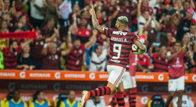 Gabigol está emprestado para o Flamengo desde o começo do ano