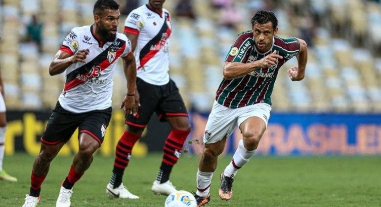 Fred perdeu ótima chance de dar a vitória ao Fluminense