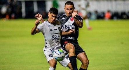 Vasco dominou Botafogo em São Januário