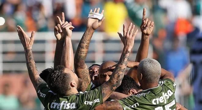 Gol do Palmeiras no Pacaembu: algo comum na área Allianz Parque