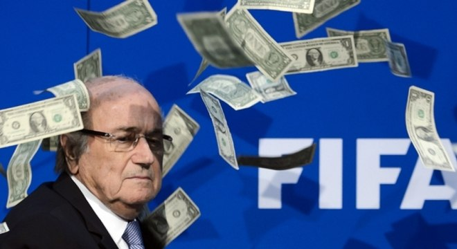 Joseph Blatter ainda era o presidente da Fifa quando os valores foram pagos à entidade