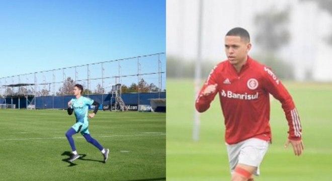 Grêmio e Inter já tinham voltado para os treinos