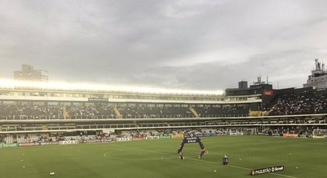 Jogo Santos x Red Bull Bragantino rendeu a maior renda líquida do Peixe em 2020