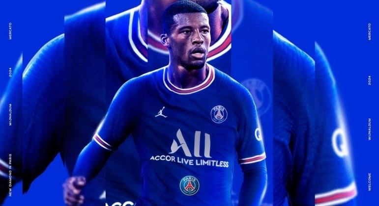 Georginio Wijnaldum é o novo jogador do Paris Saint-Germain