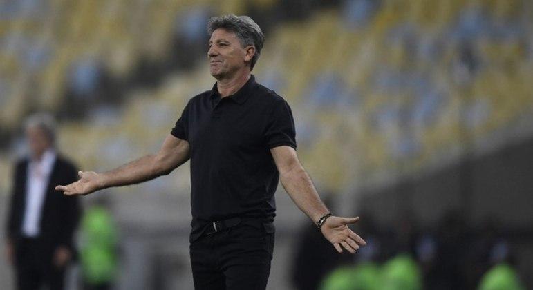 Renato Gaúcho é o mais cotado para assumir o Flamengo após demissão de Rogério Ceni