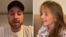 Eriksen envia recado emocionante à menina que passará por cirurgia
