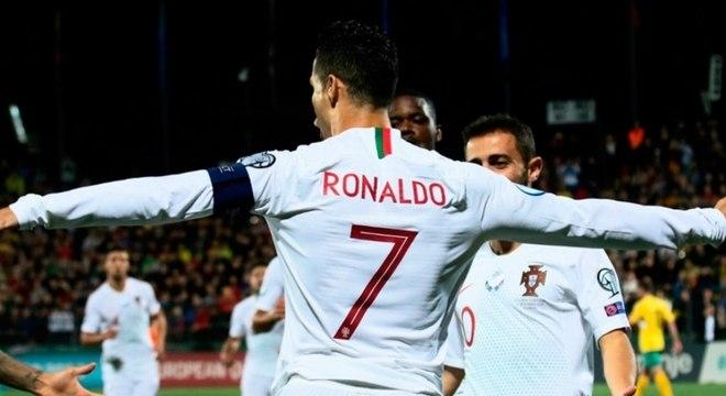 Cristiano Ronaldo foi a grande estrela da vitória de Portugal