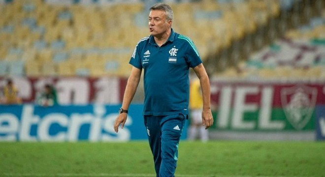Treinador elogiou a forma como o Flamengo evolui