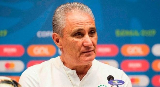 O treinador Tite foi o comandante do Brasil na Copa do Mundo 2018, na Rússia