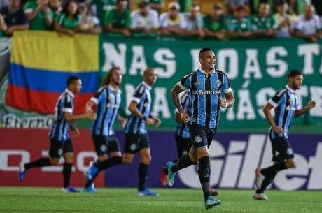 Luciano marcou gol da vitória do Grêmio
