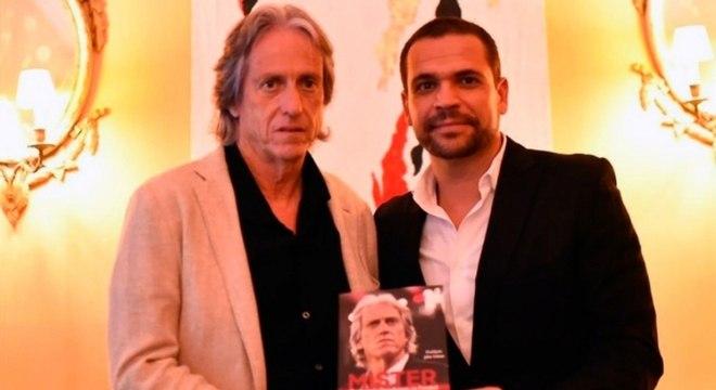 Jorge Jesus lançou sua biografia nesta terça-feira