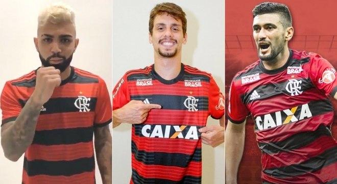 Jogadores de impacto chegam ao Flamengo com desafio