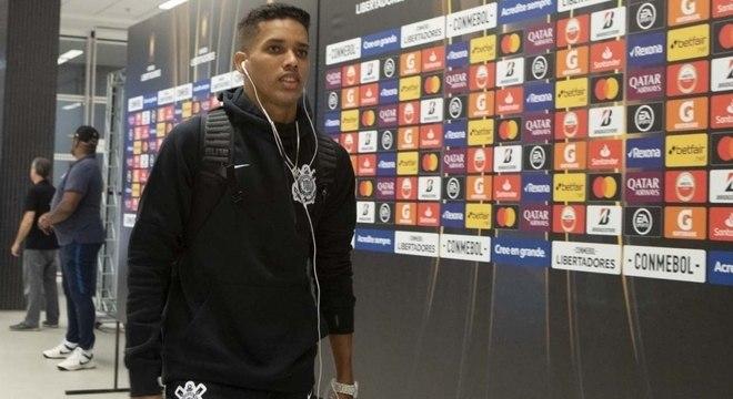 Pedrinho assumiu a camisa 10 do Corinthians nesta temporada