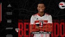 São Paulo anuncia contratação do lateral colombiano Orejuela