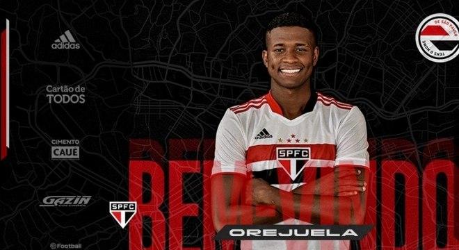 Orejuela chega para ser o 'dono' da lateral-direita no São Paulo