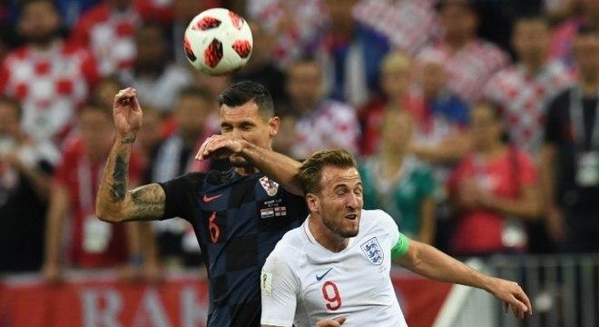 Kane não foi bem contra a Croácia
