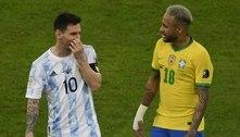 Neymar lamenta vice da Copa América, mas parabeniza Messi