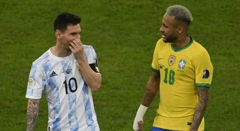 Os dois jogadores foram eleitos os melhores da competição