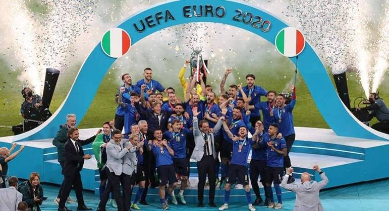 Itália foi campeã nos pênaltis