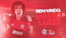 Fim da novela: Flamengo anuncia a contratação de David Luiz