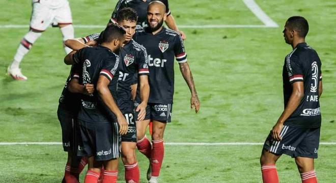 Tricolor venceu o Palmeiras na última rodada do Campeonato Brasileiro