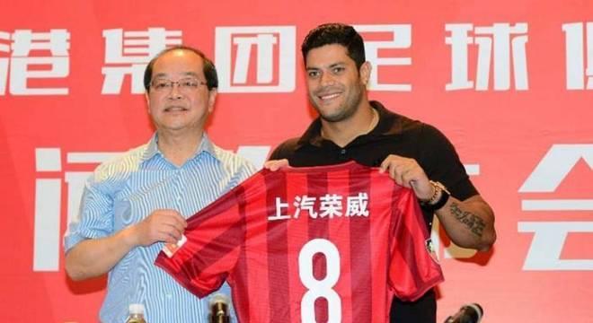 Hulk está de saída do Shanghai SIPG, da China