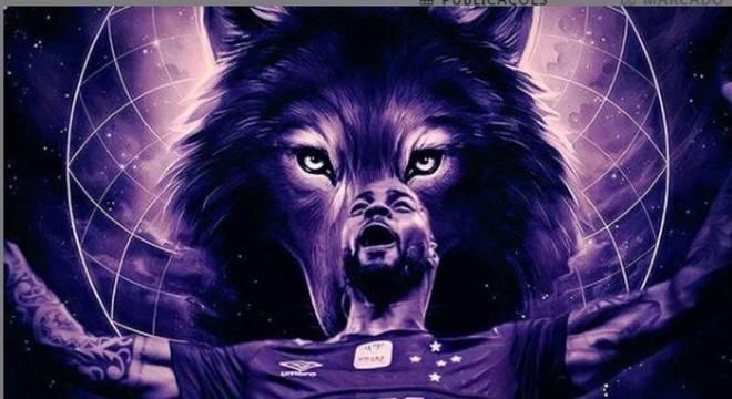 Dedé postou uma imagem com uma Raposa, simbolizando relação com o Cruzeiro