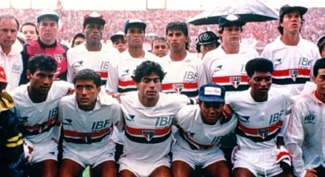 São Paulo fez campanha ruim no Paulistão de 1990, mas não foi rebaixado