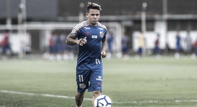 Soteldo acertou com o Santos até fim de 2023