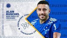 Em dia de 'pacotão de reforços', Cruzeiro confirma Alan Ruschel