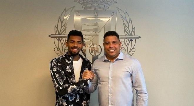Matheus Fernandes está emprestado ao Valladolid, time de Ronaldo