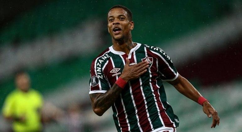 Caio Paulista fez o gol que definiu a vitória do Fluminense na Libertadores