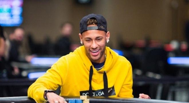 Neymar é um grande fã de pôquer