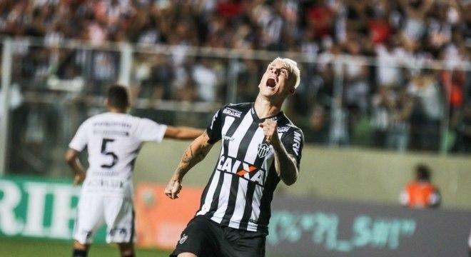 Róger Guedes marcou 9 gols pelo Atlético Mineiro no Brasileirão 2018