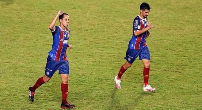 Rodriguinho marcou o gol da vitória do Bahia nesta quarta-feira