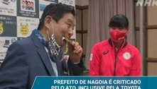 Japonesa vai receber nova medalha do COI após mordida de prefeito