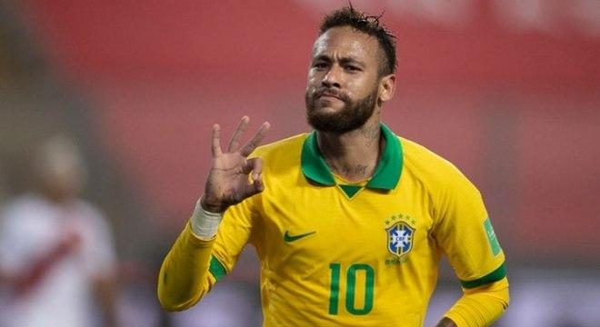Neymar está fora dos próximos jogos da seleção