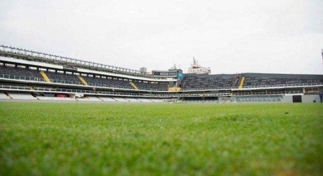 Vila Belmiro recebeu todos os jogos do Peixe como mandante nesta Libertadores