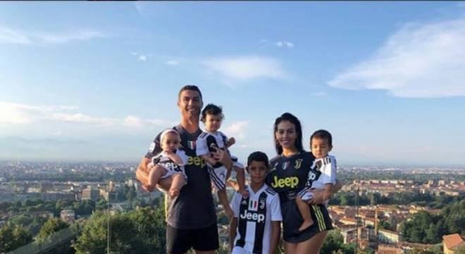 Cristiano Ronaldo está com a família na Ilha da Madeira