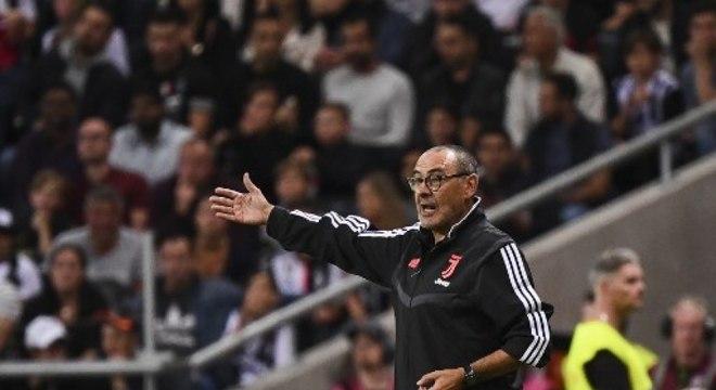 Maurizio Sarri pode estar chegando aos Spurs